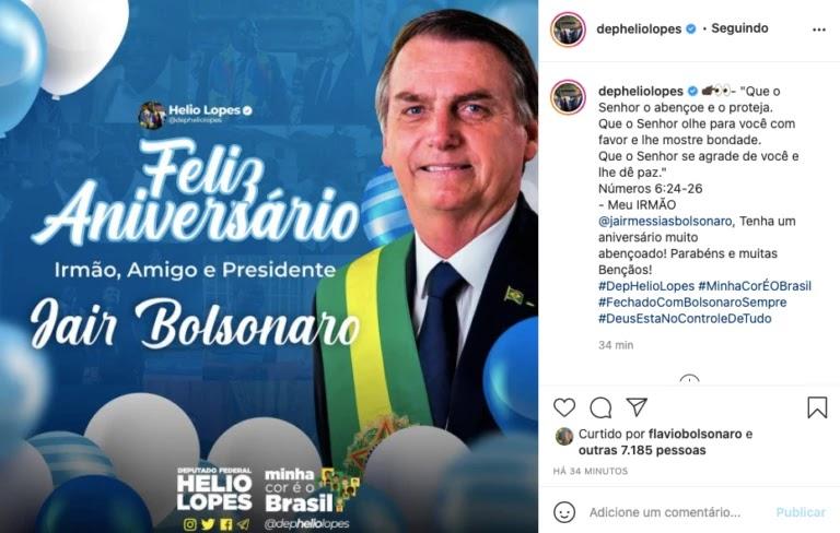 Screenshot 2021 03 21T091911.909 768x488 - Bolsonaro completa 66 anos e é homenageado por multidão de patriotas que canta parabéns em frente ao planalto; VEJA VÍDEO
