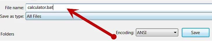 Make Calculator using Command Prompt in windows