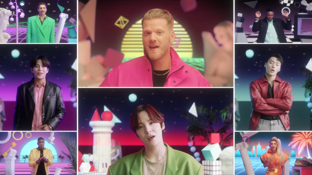 PENTATONIX and ATEEZ Release Their Collaboration MV 'A Little Space'