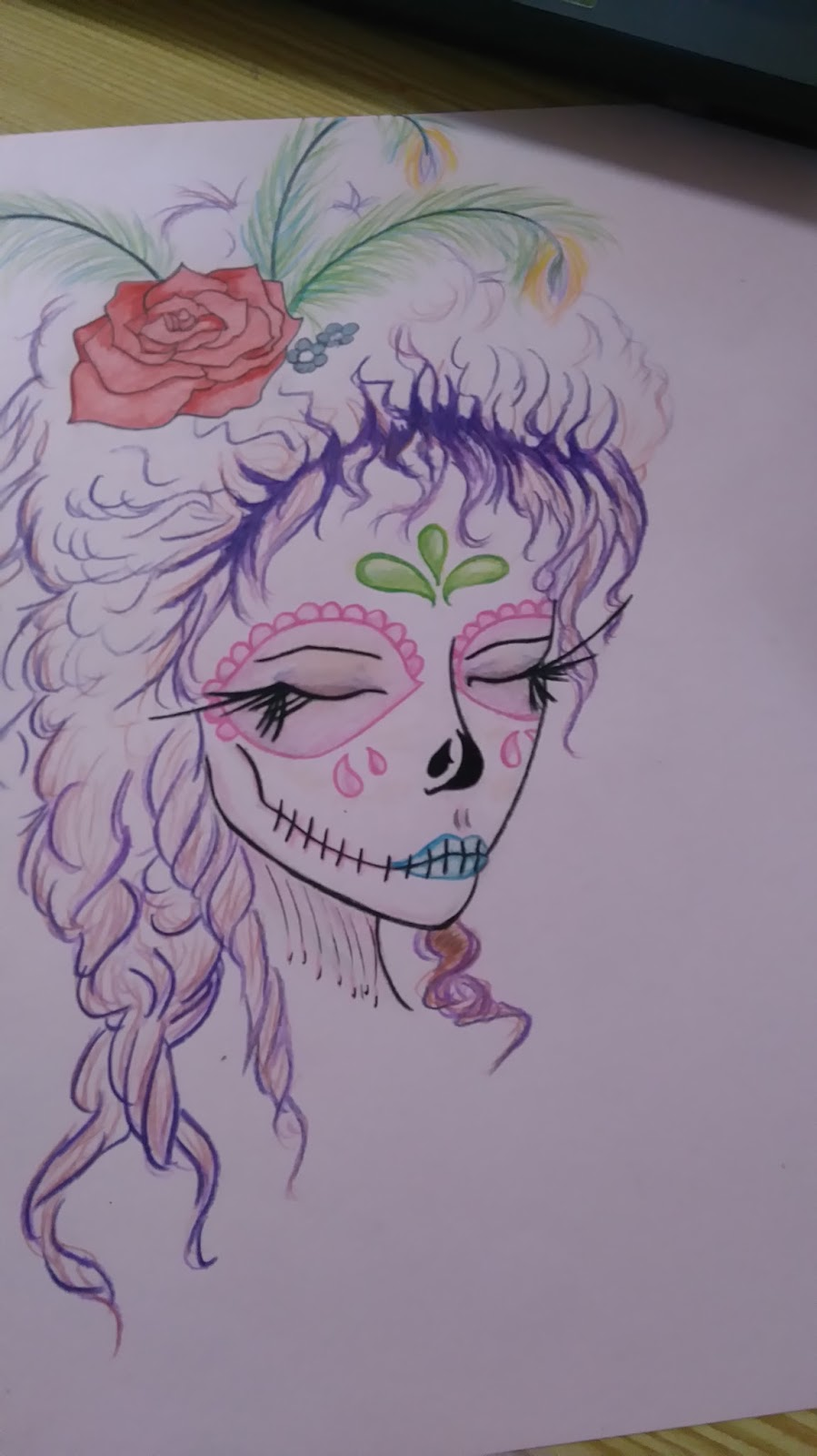 Dibujo Dibujos En Cartulinas De Colores
