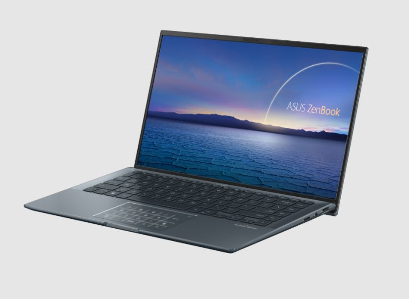 Harga dan Spesifikasi Asus Zenbook 14 UX435EAL 1WIPS511, Laptop Intel EVO Ultra Ringan