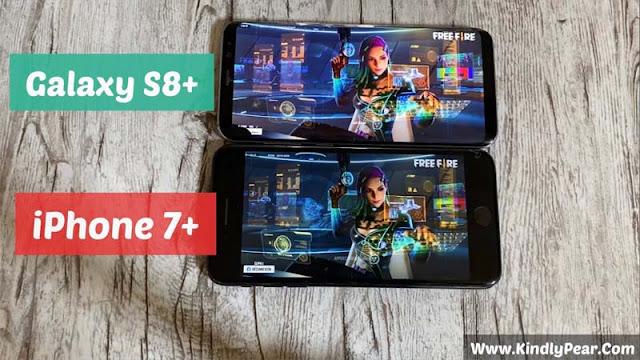 مقارنة بين iPhone 7 Plus vs Galaxy s8 Plus أيهما الأقوى في تشغيل الألعاب