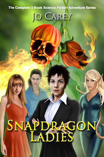 Snapdragon Ladies: The Complete 3-Book Science Fiction Adventure Series