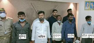 कानपुर : फर्जी जमानतदार और दस्तावेज बनाने वाला गैंग क्राइम ब्रांच ने दबोचा