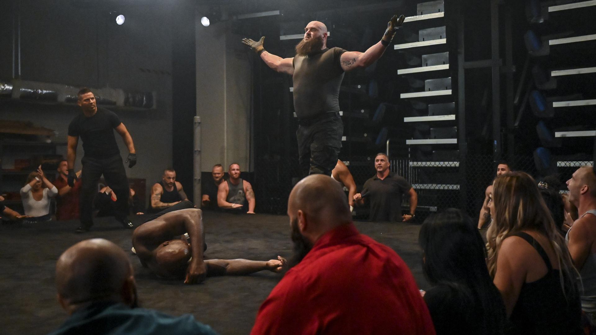Braun Strowman aparece no RAW Underground e enfrentará Dabba-Kato na próxima semana