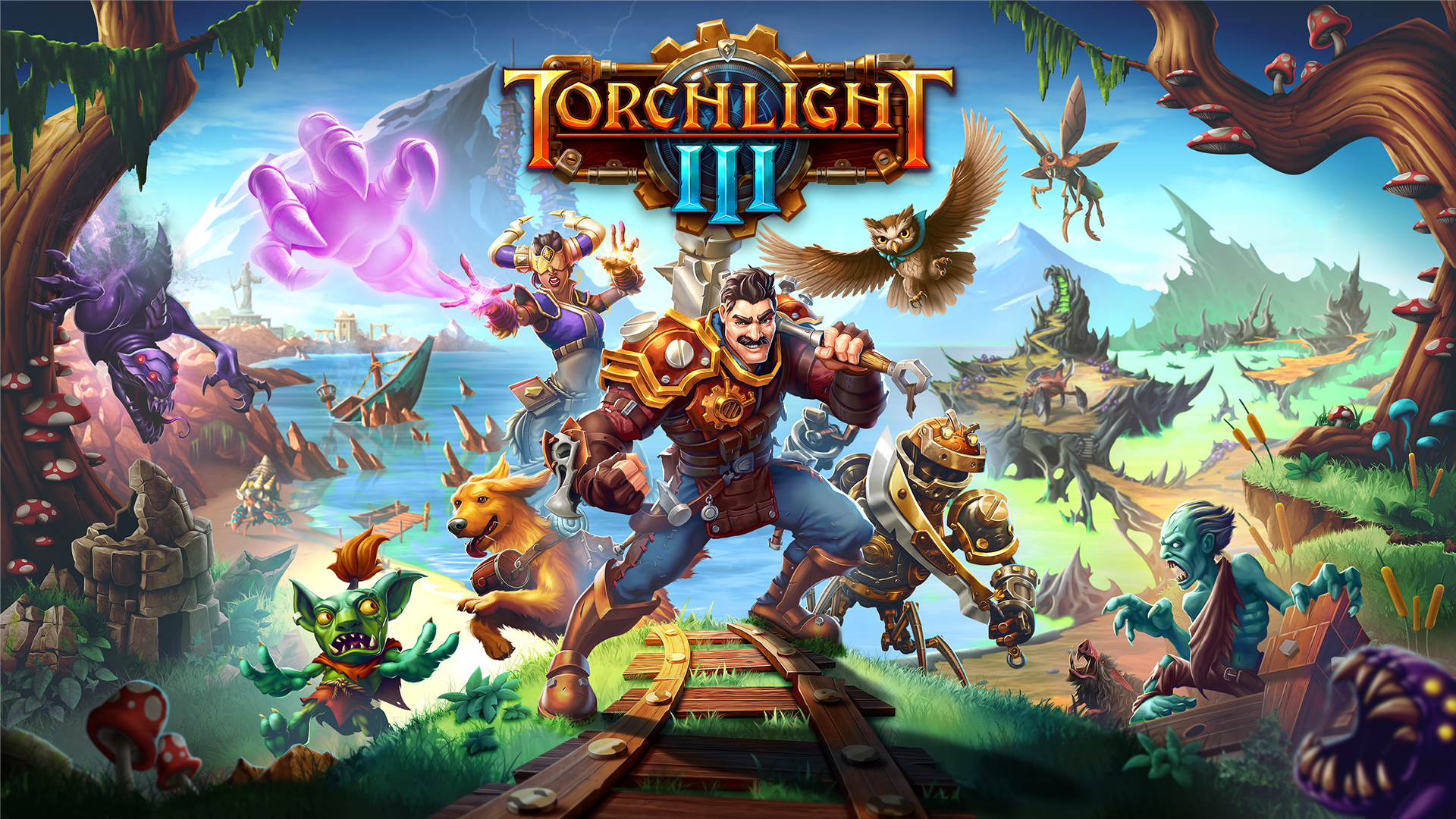 Torchlight 3 Guide . How to improve weapons?