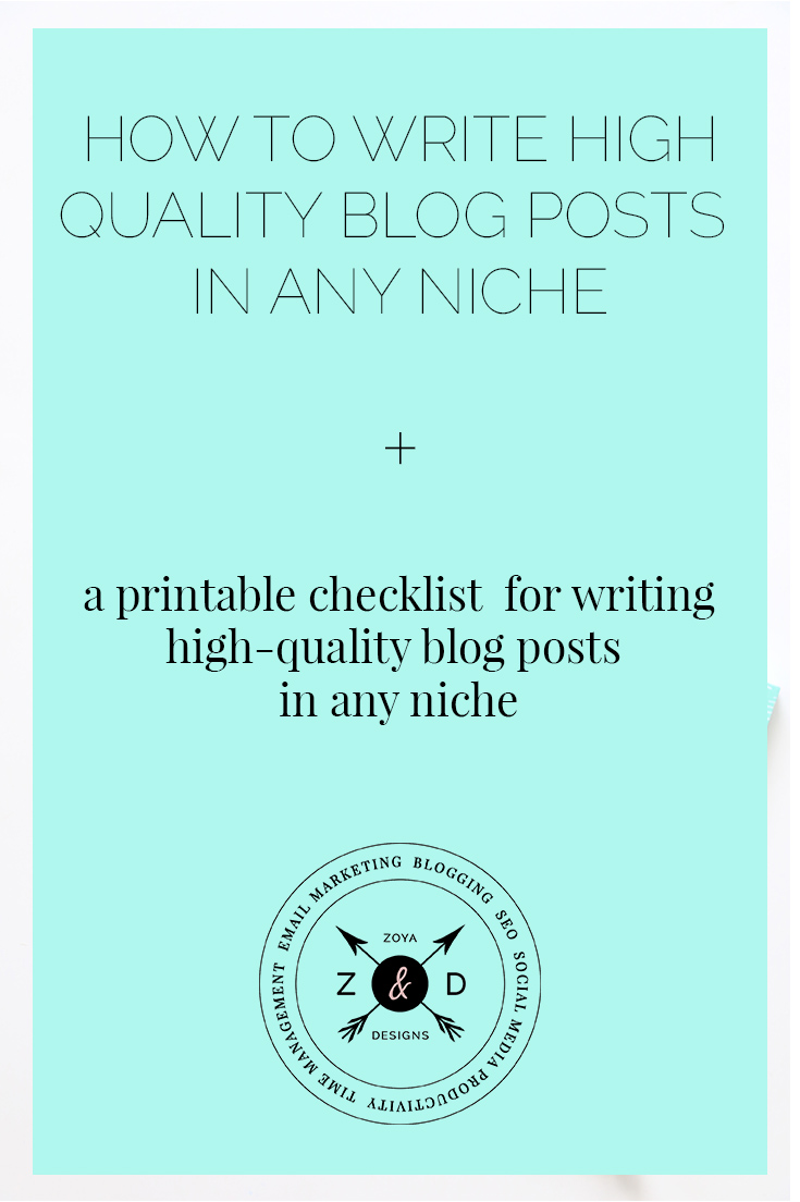 writing high quality blogposts