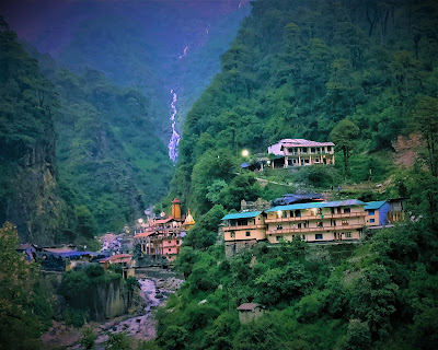 Yamunotri Dham - Origin of Yamuna River