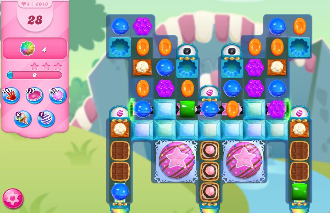Candy Crush Saga level 8013