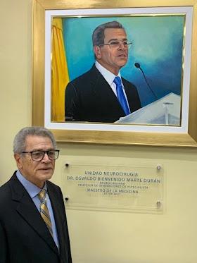 Gran algarabía por designación unidad neurocirugía del hospital Ney Arias Lora  con el nombre del doctor Osvaldo Marte