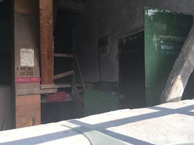 Moara din Vânători - interior