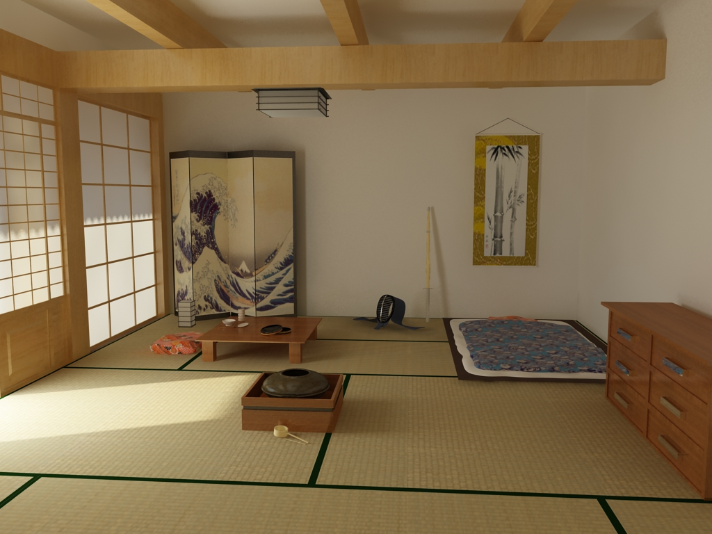 Japanese Bedrooms Style Japanese Interior Design Interior Home Design