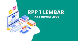 RPP 1 Lembar Revisi 2020 Mapel PPKN Kelas 7 SMP/MTs
