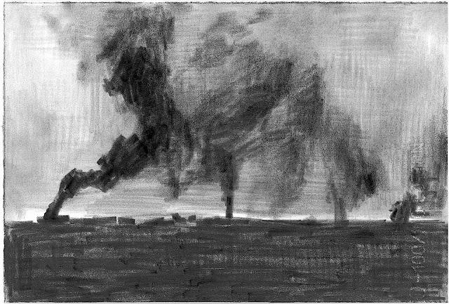 Marcel Van Eeden smoke on the horizon