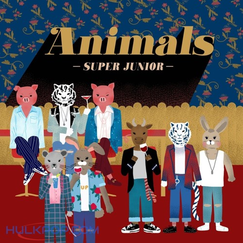SUPER JUNIOR – Animals – Single (ITUNES PLUS AAC M4A)