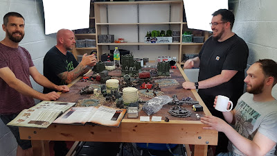 Weekend at SayHiPaul - a 40k get-together for the Deployment Zone regulars