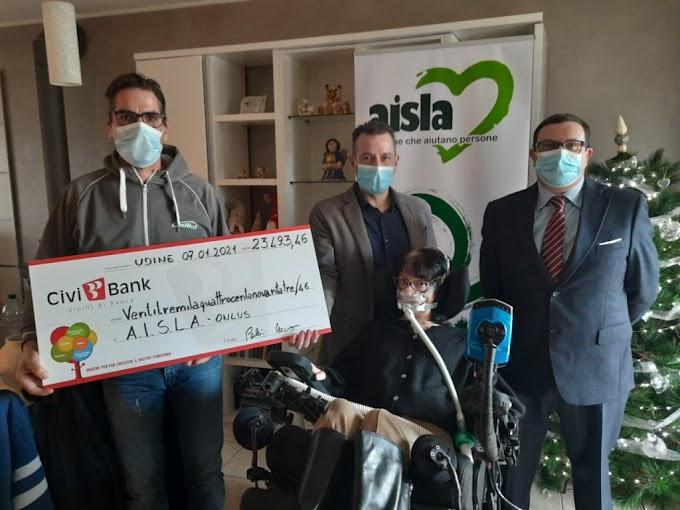 """Lotta alla SLA: raccolti 23mila euro dalle """"Rondelle per la ricerca"""""""