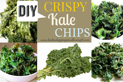 Lashes, Leggings and Losing It!: Homemade Crispy Kale Chips