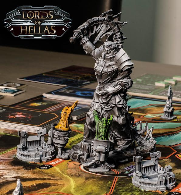 Lords of Hellas Kickstarter zeus monument