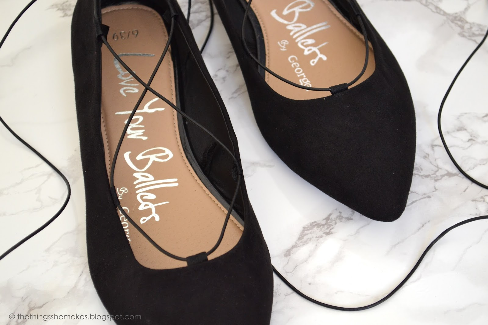 Lovely DIY Lace Up Ballet Flats forecasting