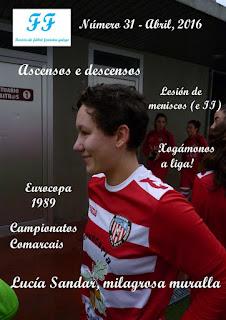 Revista Fútbol Femenino Galego, Abril 2016