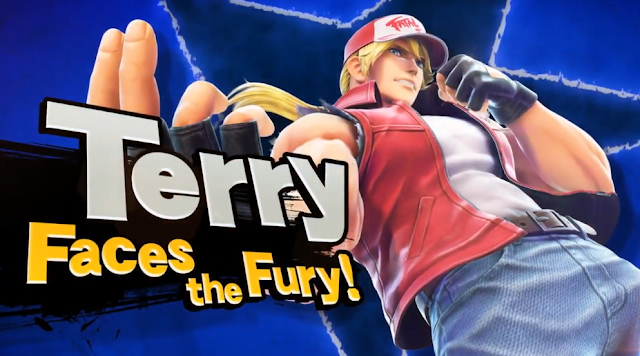 Terry Bogard Faces the Fatal Fury Super Smash Bros. Ultimate character DLC