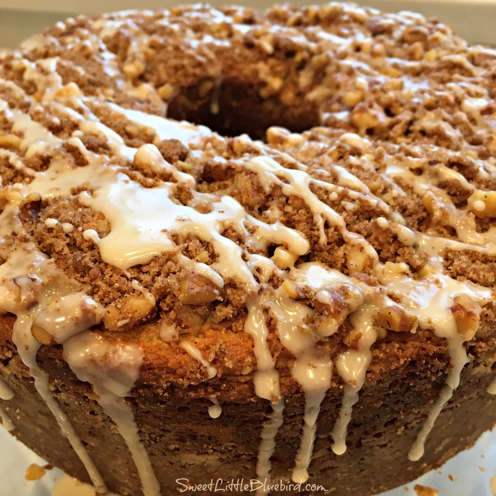 Sour Cream Coffee Cake Sweet Little Bluebird