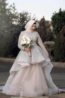 20 فستان سهرة للمحجبات لأشهر مصممين الازياء