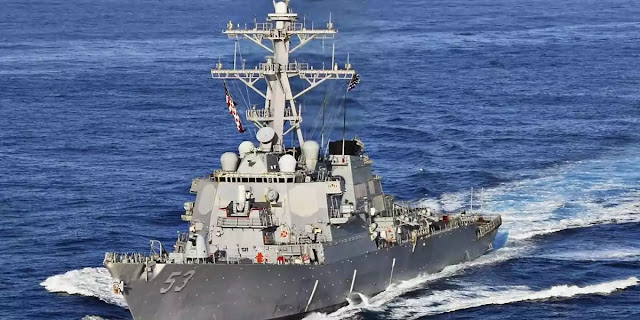 USS John Paul Jones carried out a freedom of navigation operation near India's Lakshadweep Islands on April 7.