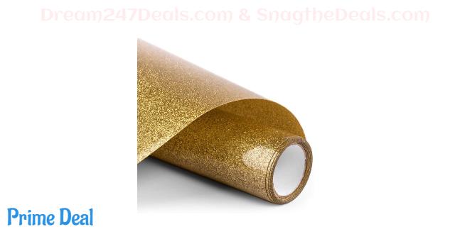 50%off PU HTV Vinyl - 12inch x 5feet Glitter Heat Transfer Vinyl roll