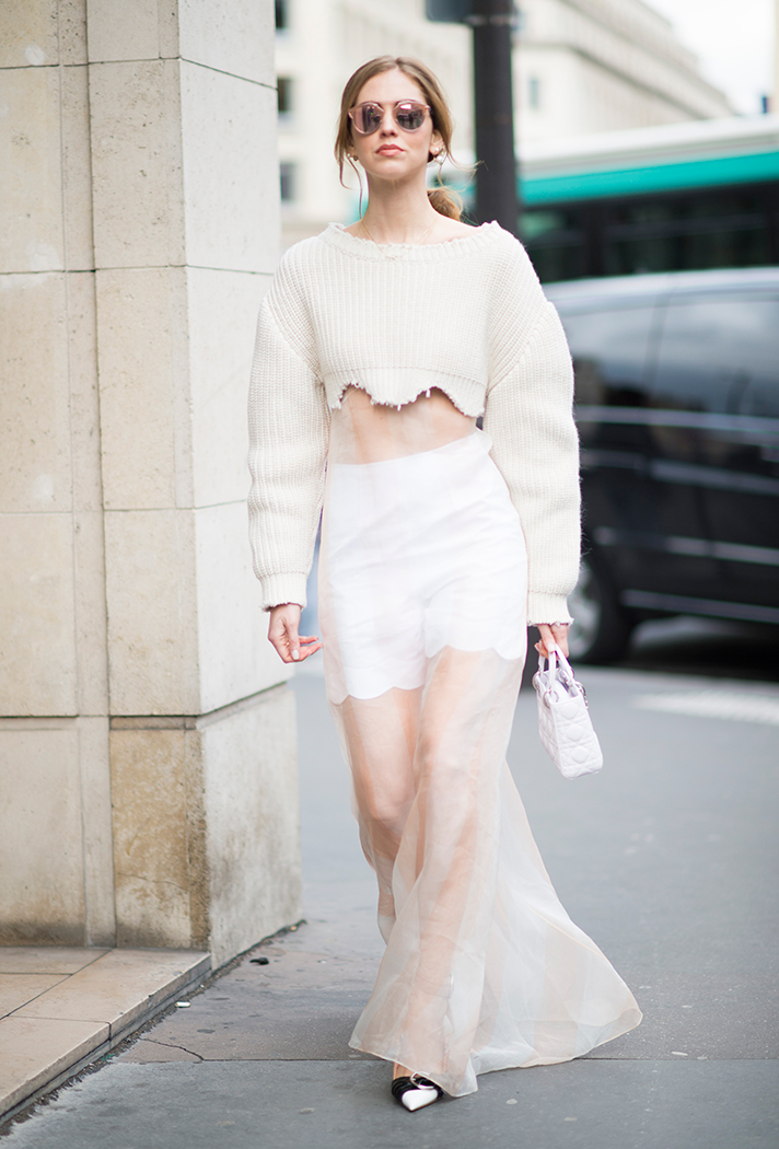 Chiara Ferragni - Paris Fashion Week Street Style - StyleCaster