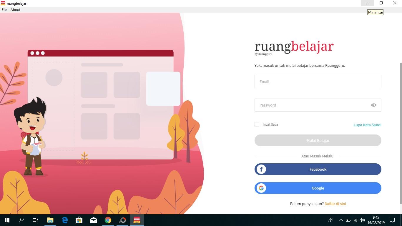 Cara Download Ruang Guru di Hp dan Komputer/PC - BERBAGI ILMU