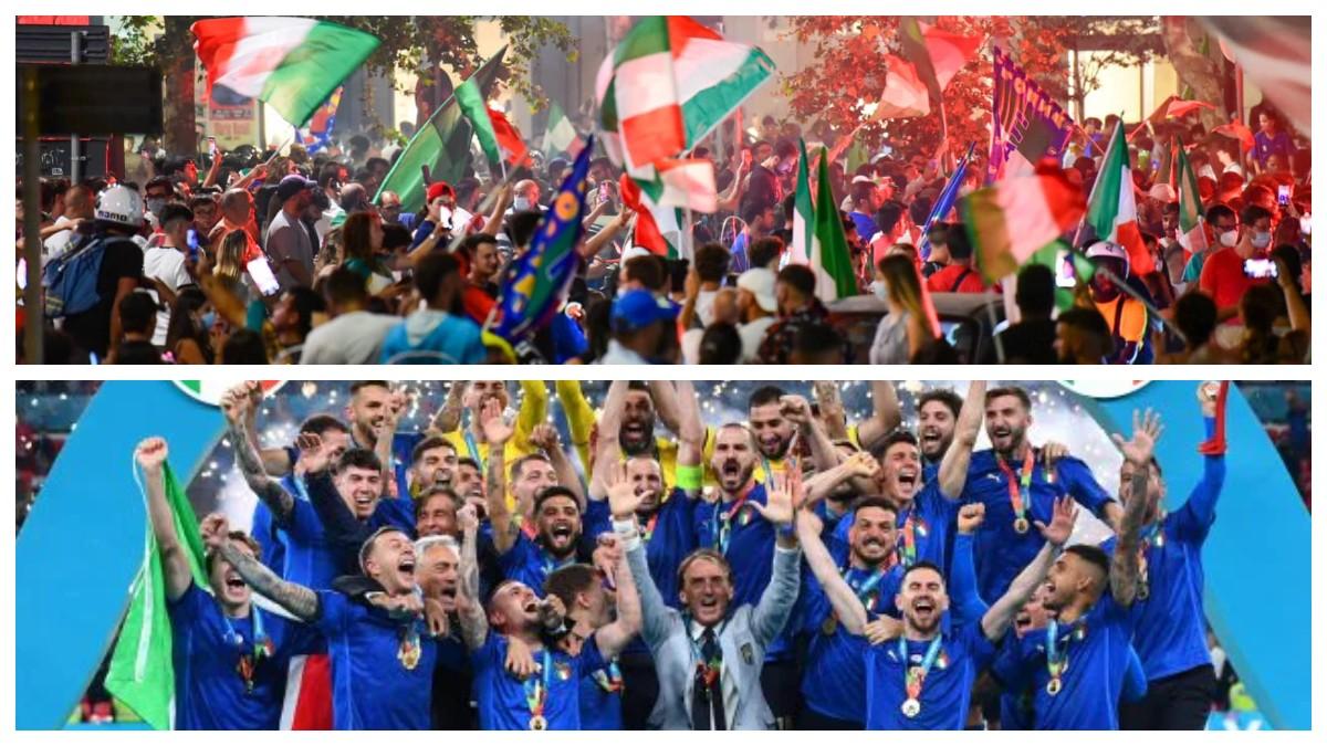 Festa Vittoria Azzurri