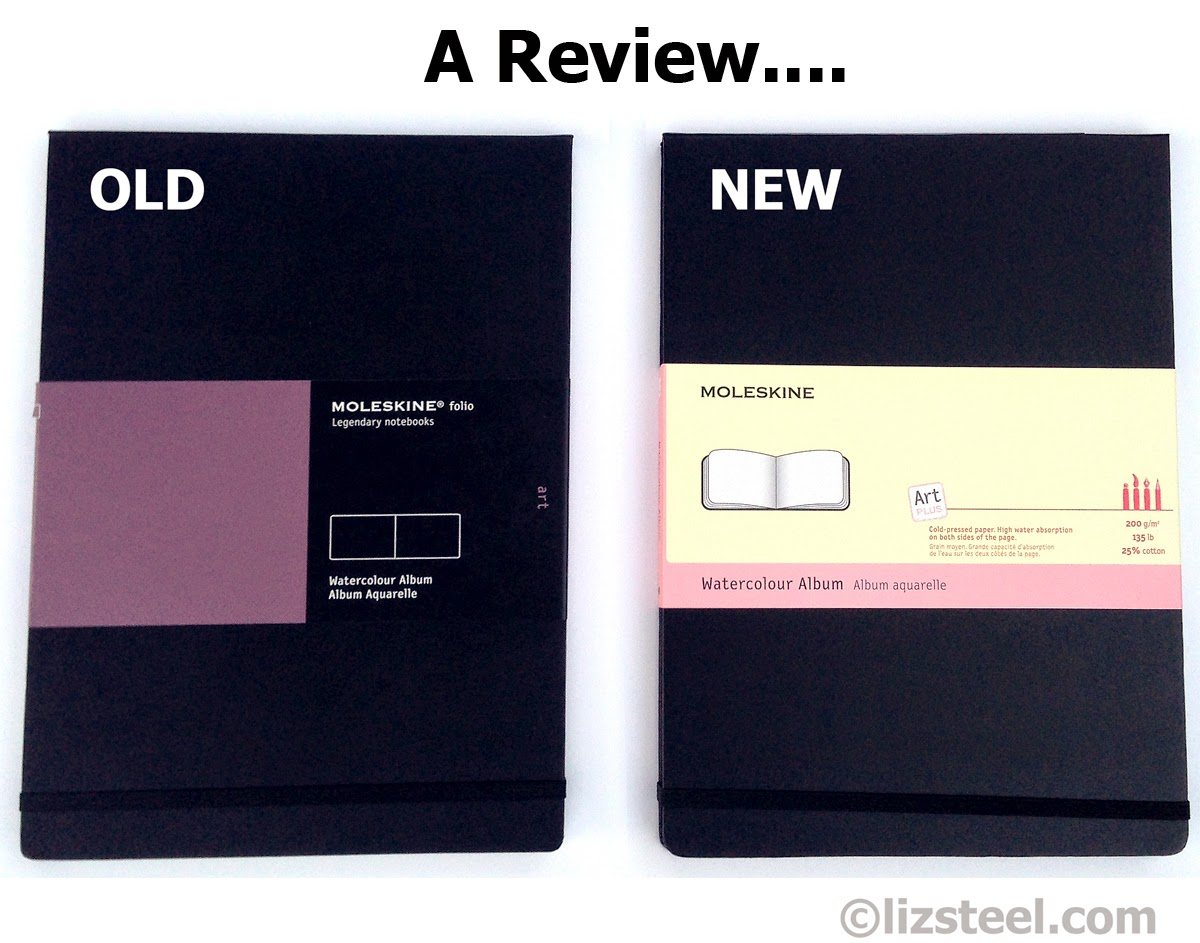 Review Of The New Paper In Moleskine Watercolour Sketchbook