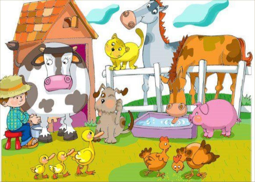 Dibujos De Granjas Infantiles A Color: AUDICIÓN Y LENGUAJE: NIVEL FONOLÓGICO-RECOPILACIÓN DE RECURSOS