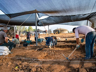 Isreal excavation site