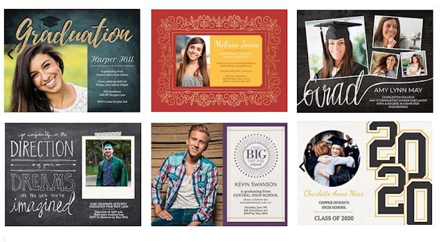 smilebox graduation announcement samples