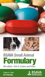 BSAVA Small Animal Formulary, Part A, Canine and Feline, 9th Edition