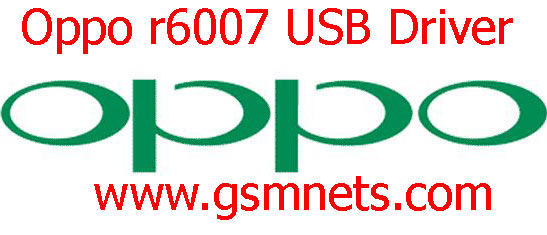 Oppo r6007 USB Driver Download