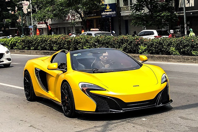 Siêu xe McLaren 650S Spider của Minh nhựa về tay đại gia Hà Nội