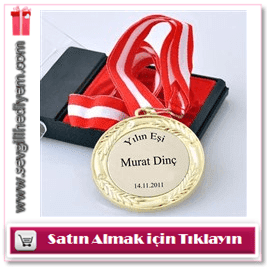 Kişiye Özel Yazılı Madalyon