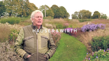 Piet Oudolf in Oudolf Field, Hauser & Wirth Somerset. Lo que los jardines son