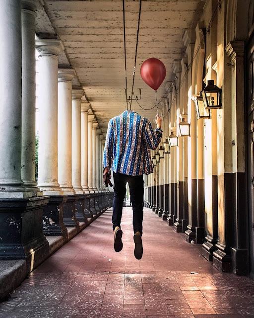 Jovem fotógrafo alcança a sua liberação emocional através de imagens surrealistas de seu diário visual