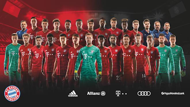 Jadwal Skuad Bayern Munchen 2020