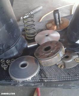 Cara Merawat Motor Matic