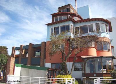 """La Sebastiana"" House - Museum, La Florida Hill, Valparaiso, Chile."
