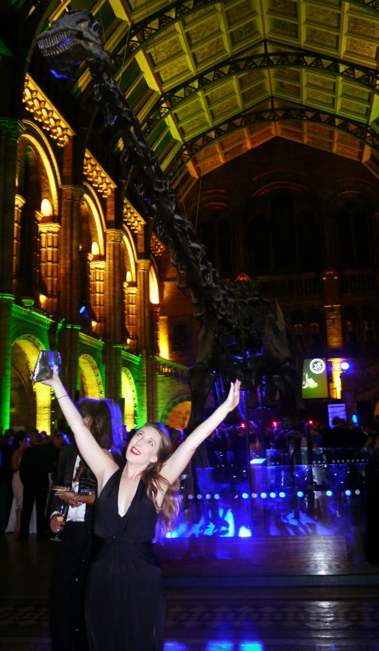 Dippy the diplodocus at the Natural History Museum
