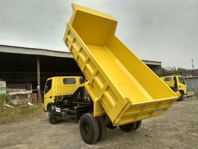 dump truck mitsubishi fuso colt diesel canter 2020