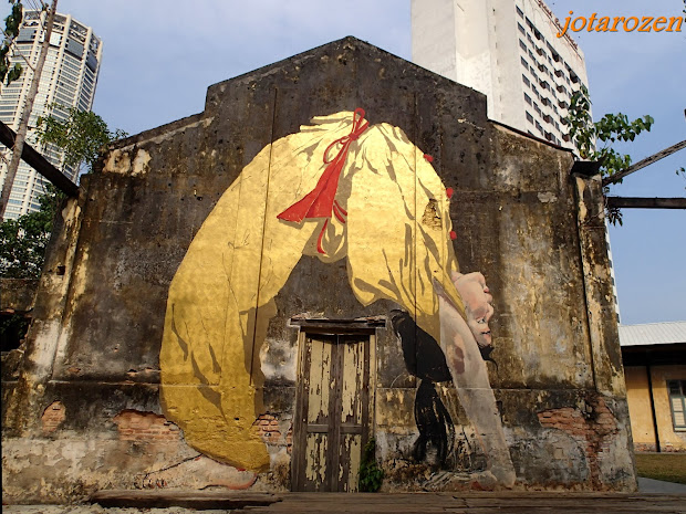 Penang Art Street Map