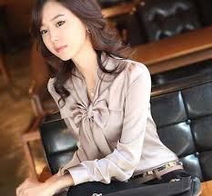 Atasan Kemeja Wanita Korea Trendy Terbaru